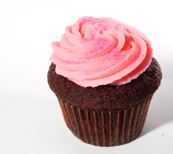 Take Five Cafe Pink Cupcake | Take Five Café