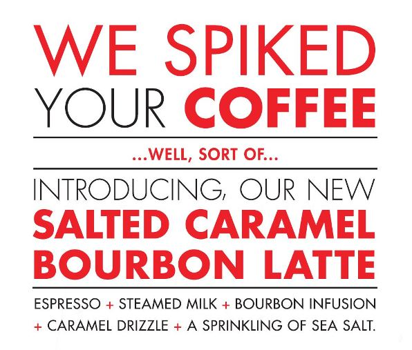 Salted Caramel Bourbon Latte cropped