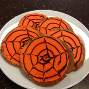 Plate of Halloween Cookies