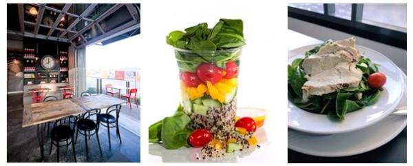 Salads and Patio